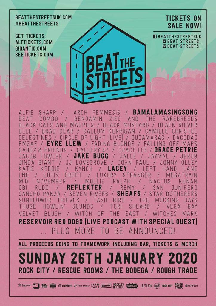 Beat The Streets festival 2020 poster