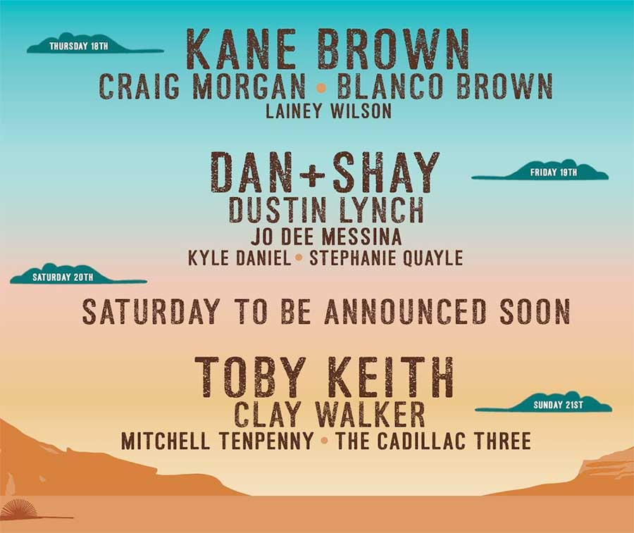 Country Jam 2020 Colorado first poster