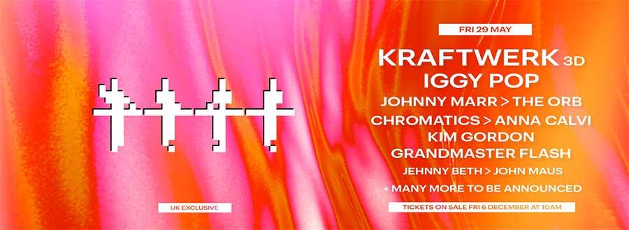 Kraftwerk All Points East 2020 poster