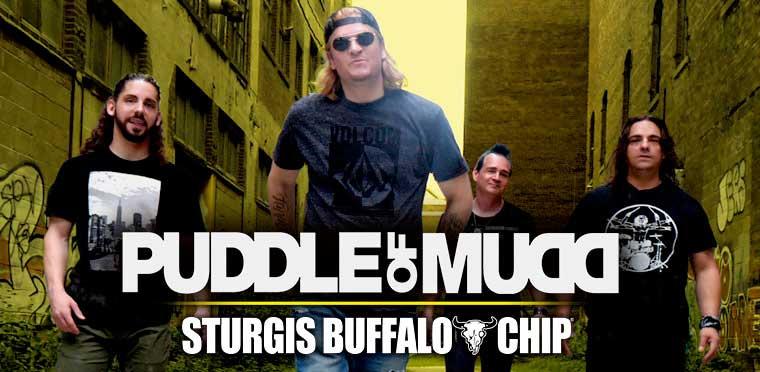 Sturgis Buffalo Chip 2020 Puddle of Mud