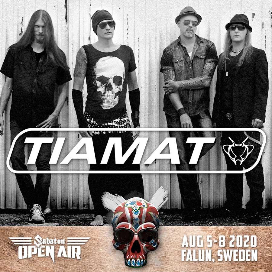 Tiamat Sabaton Open Air 2020 poster