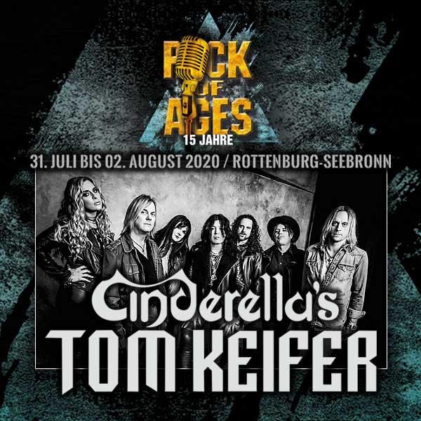 Tom Keifer plays Rock Of Ages festival 2020