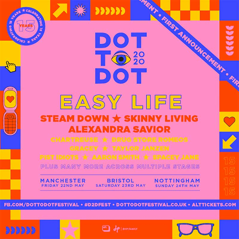 Dot to Dot Festival 2020 first announce poster