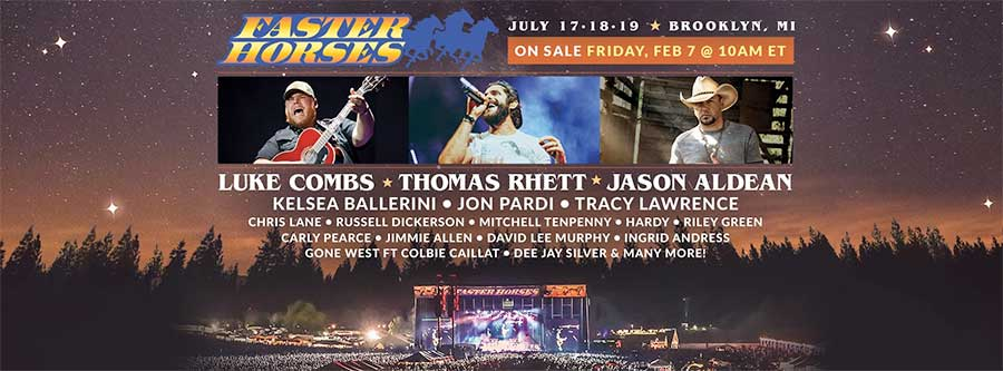 Faster Horses USA 2020 poster