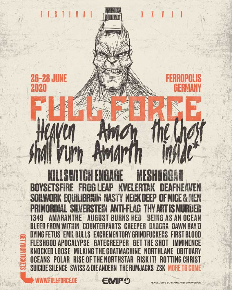 Full Force Germany 2020 latest poster