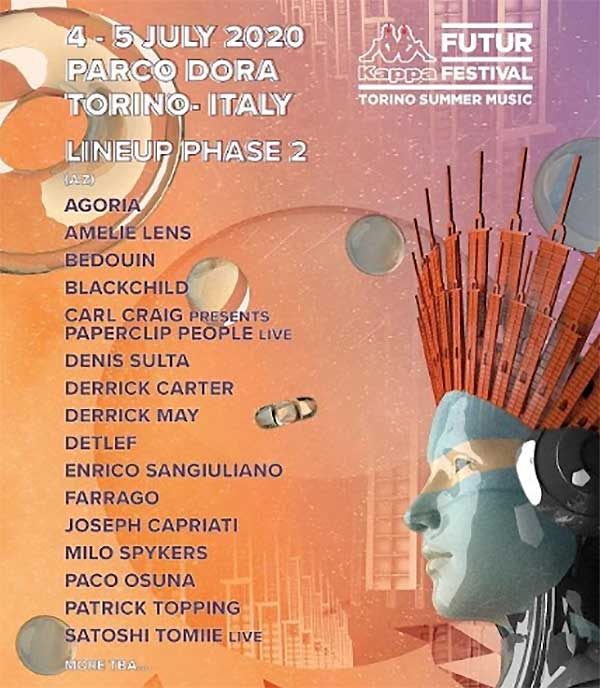 Kappa Futurfestival 2020 poster