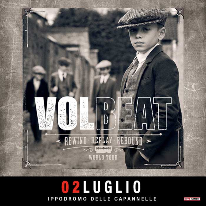 Rock in Roma Volbeat 2020 poster