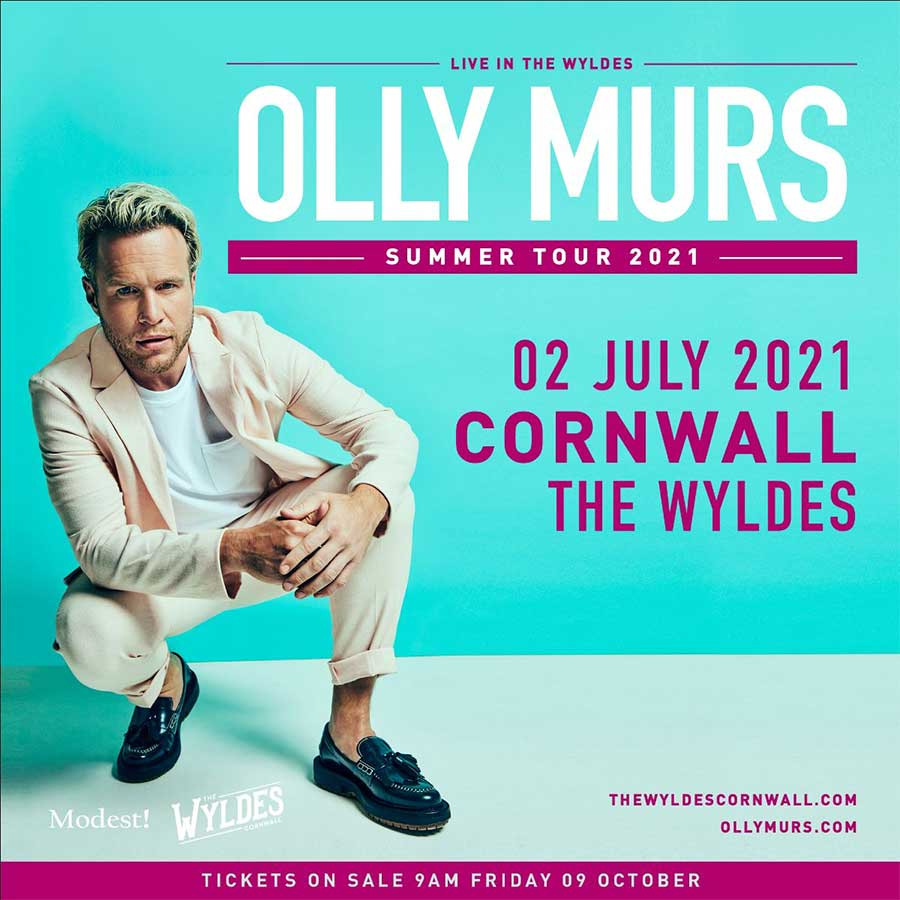 Olly Murs The Wyldes 2021 uk poster