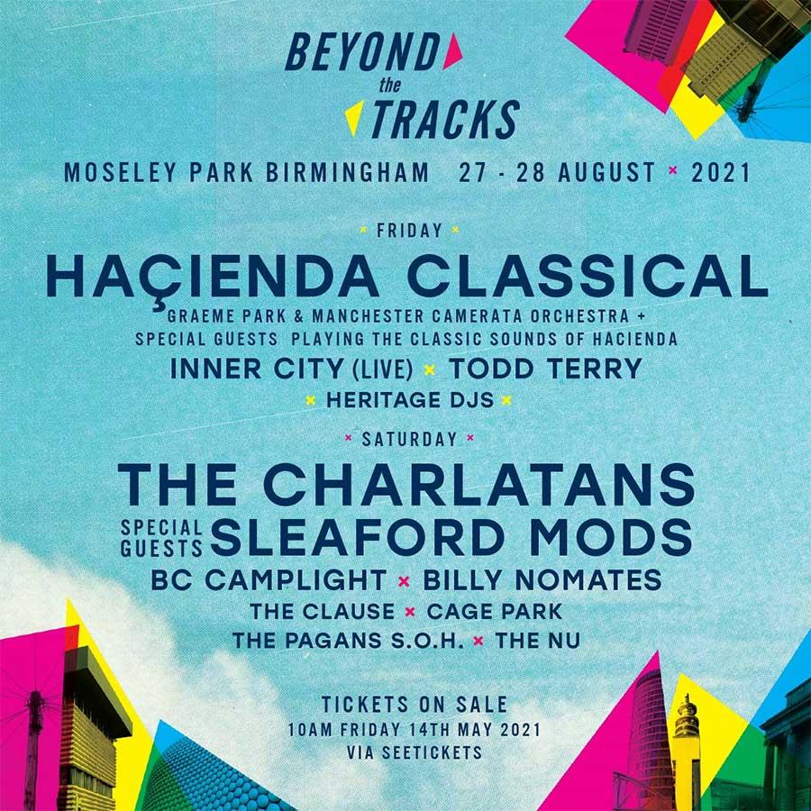 Beyond The Tracks 2021 poster