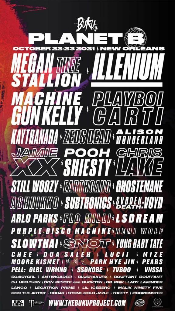 BUKU festival 2021 poster