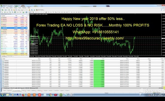 Amazing Forex Robot 100 Profit No Loss Youtube Resep Kuini