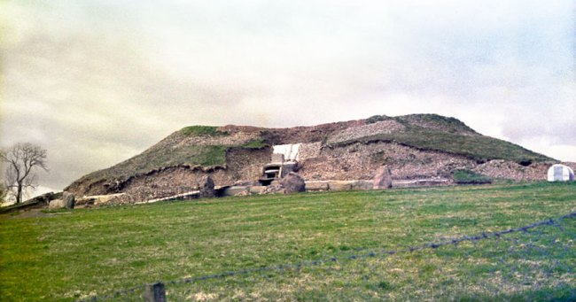 Newgrange reconstruction