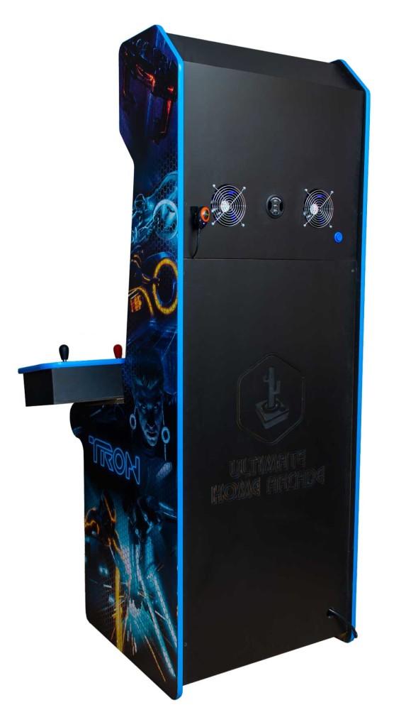 Custom Tron MAME arcade cabinet  Ultimate Home Arcade
