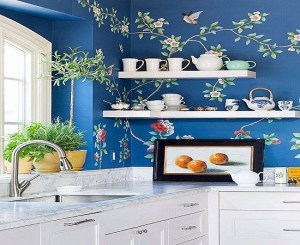 kitchen creative wall tree ways interior bright living designs walls decorating learned chinoiserie lessons each plus decor