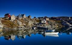 greenland fishing village