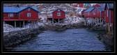 fishing cabins in Lofoton, Norway