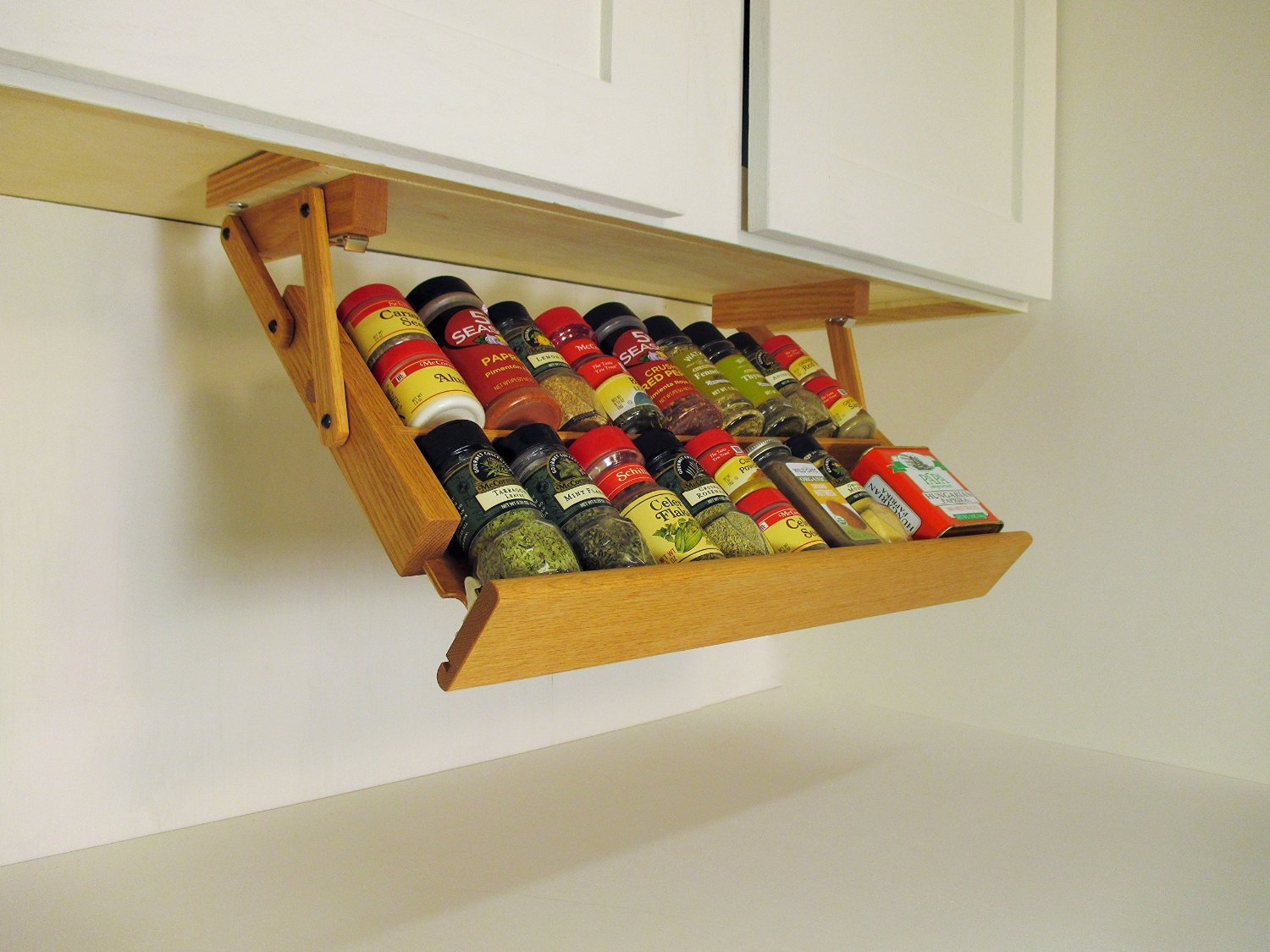 kitchen cabinet spice rack red rugs and mats now on sears  ultimate storage