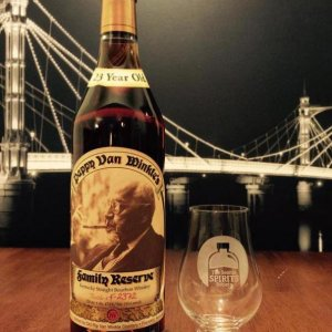 Pappy Van Winkle 23 years The Old Rip Van Winkle brand was a pre-prohibition bourbon label, revived by the Van Winkle family