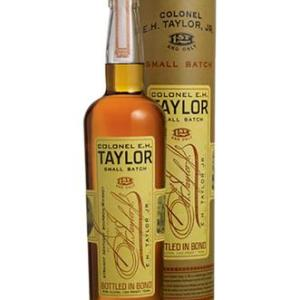 Colonel Taylor Bourbon barrel proof. This Small Batch Bourbon Whiskey has been aged inside century old warehouses constructed E.H Taylor