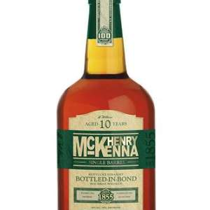 Henry McKenna 10 Year This high proof, Bottled-in-Bond Bourbon was named for Henry McKenna. As one of the only extra-aged Bottled-in-Bond