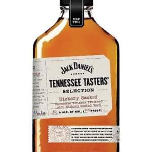 jack daniels Tennessee- Hickory Smoked Taster is a fully matured whiskey finished with charred hickory staves for a smoky flavor at 100-proof.