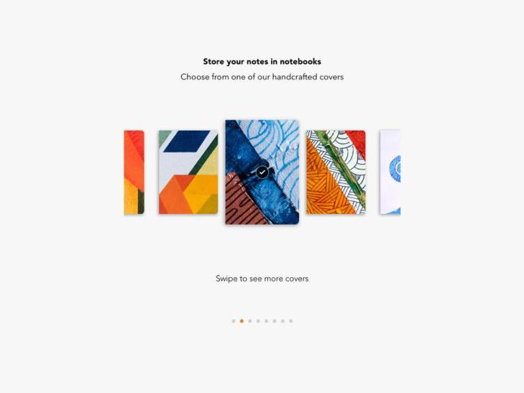 Zoho Notebook - Store Notes