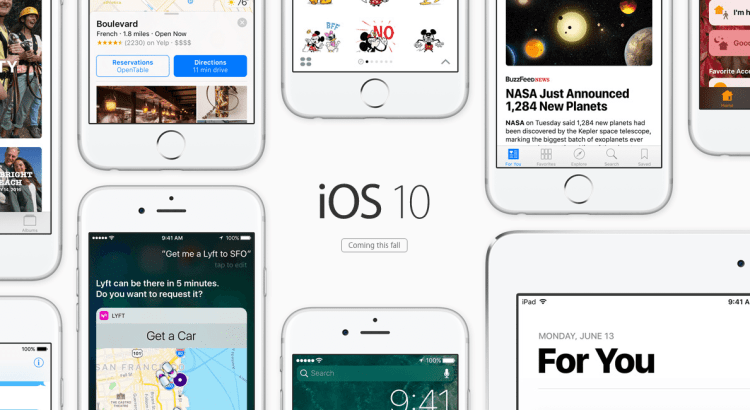 iOS 10: Its Features Explained