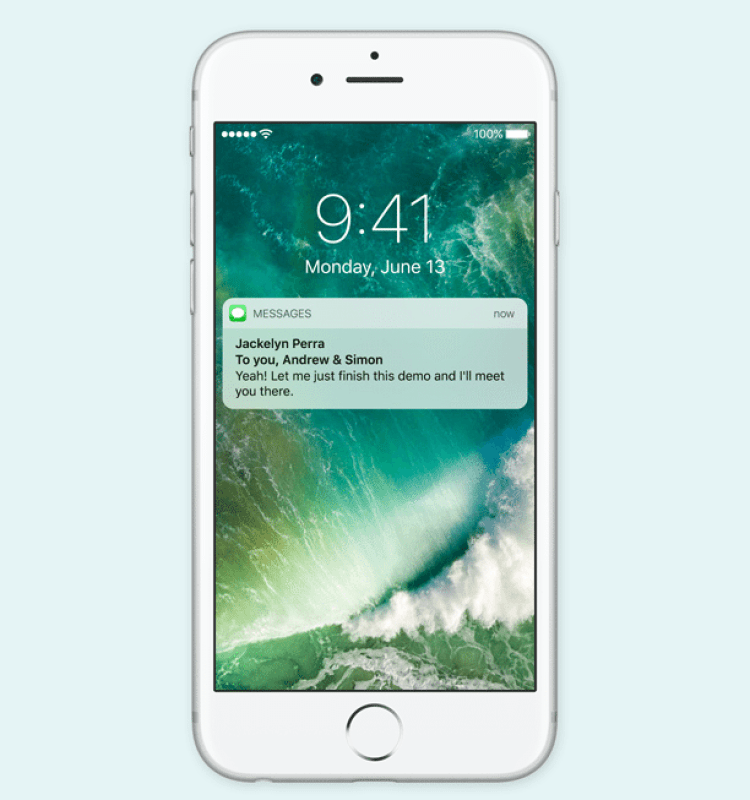 ios 10 - rich notifications