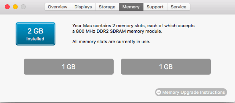 speed up your mac - ram upgrade