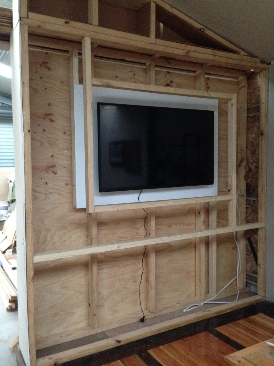 Tv Wall Build Ultimatemancavebuild
