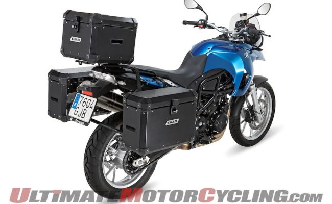 Shad St38 Adventure Saddlebags Top Case Ultimate