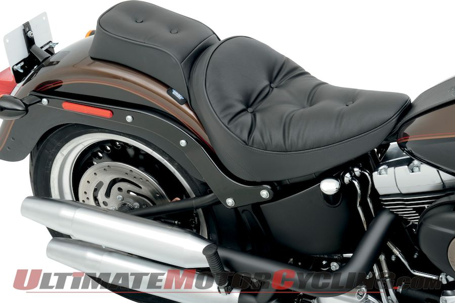 Drag Specialties Chopped Solo Seat for Harley Softails