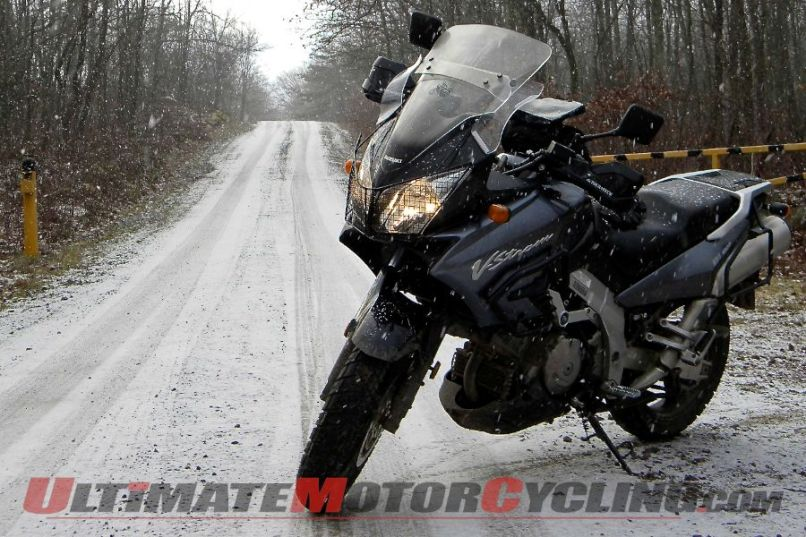 Author S 2002 Suzuki V Strom Dl1000 Ugly But Winter Friendly