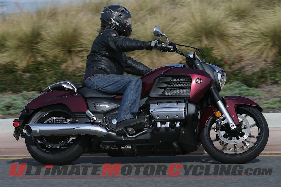2014 Honda Valkyrie  First Ride Cruiser Motorcycle Test