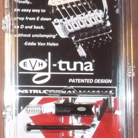 8498bf57f7a EVH® D-Tuna Drop D Tuning System For Floyd Rose Bridges~Black~USA~Brand New  – Ultimate Music Direct