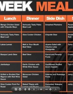 also one week meal planner lexu rh bok tbok