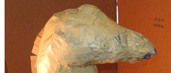Giraffe Head, Step 1