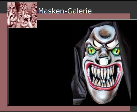 Creepy Paper Mache Masks