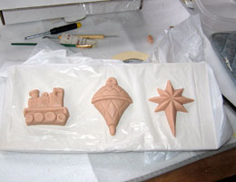 Paper Mache Ornaments, Step 2
