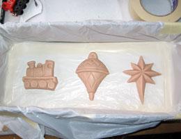 Paper Mache Ornaments, Step 3