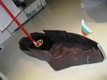 Deyana Viktorsson's Paper Mache Boat