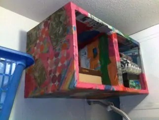 Paper Mache Shelves