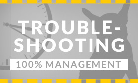 Troubleshooting 100% Management