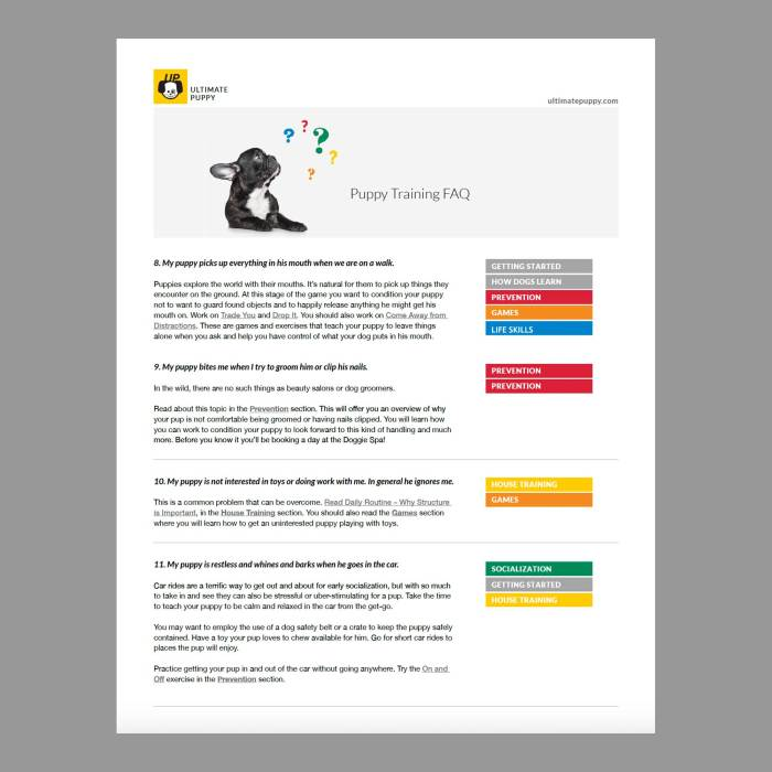 Ultimate Puppy FAQ PDF