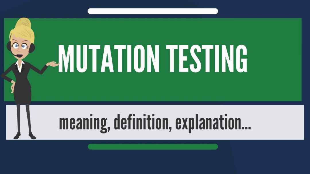 resources for mutation testing