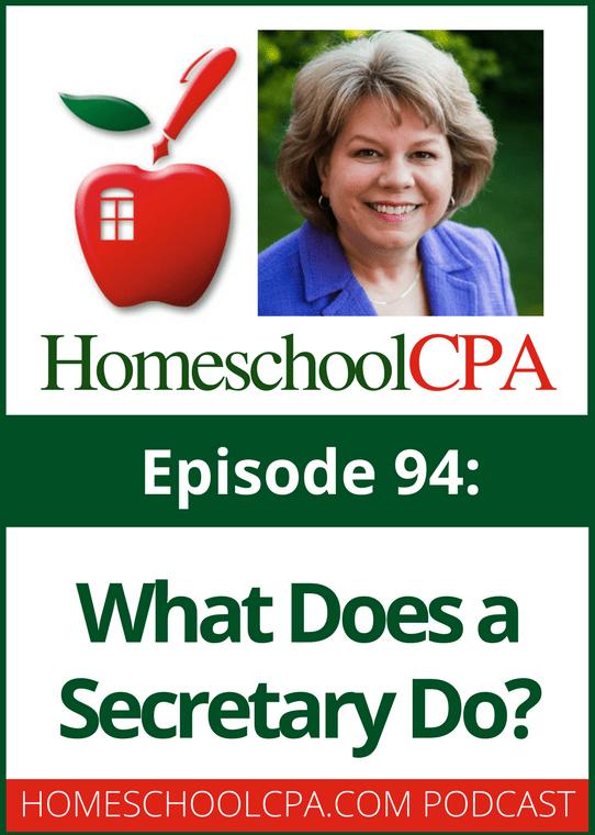 What Does a Secretary Do  Ultimate Homeschool Radio Network
