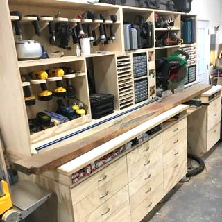 how to setup a home workshop woodworking