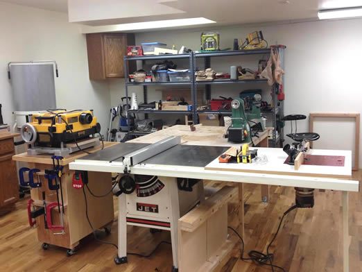 Setting Up A Woodworking Shop In A Garage