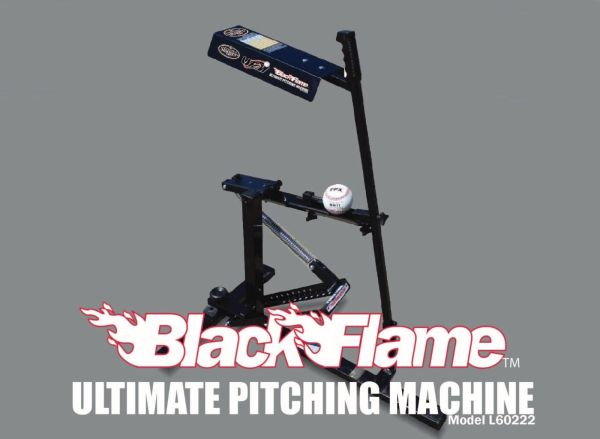 Black Flame Pitching Machine Louisville Slugger