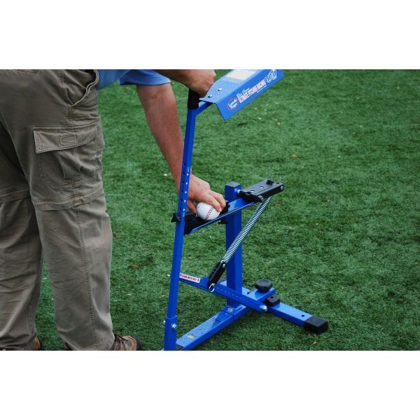 Blue Flame Pitching Machine Ultimate Sport Gyms